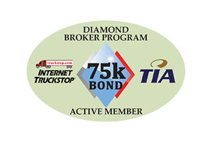 Internet Truckstop – Diamond Brokers Logo